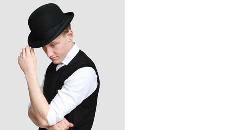 Mens Bowler hat