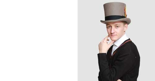 Mens top hat