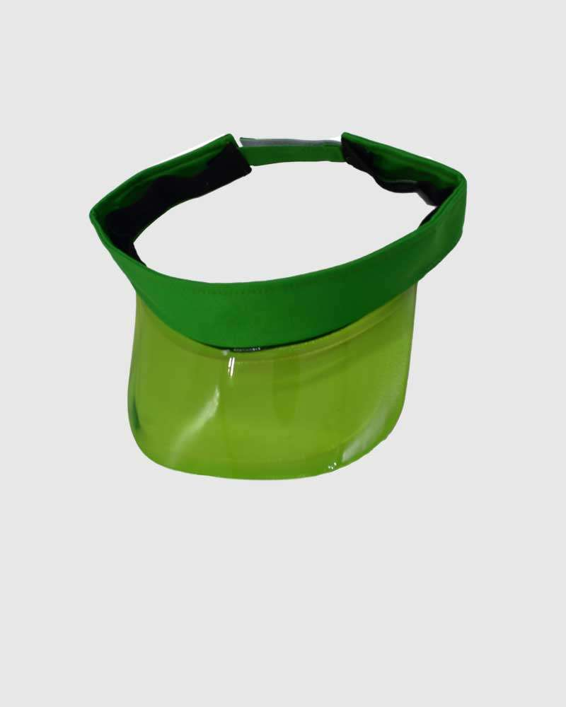iHATS Visor Sun Caps with Headband -Green