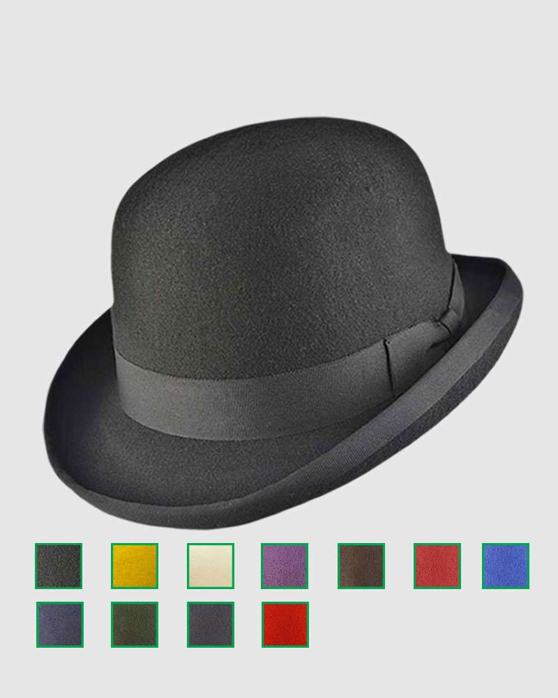 The Classic Bowler Hat