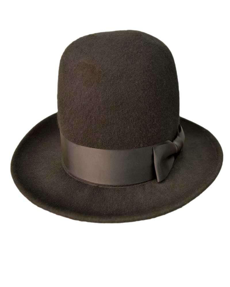 Mens Tall Oversized Hat -Black