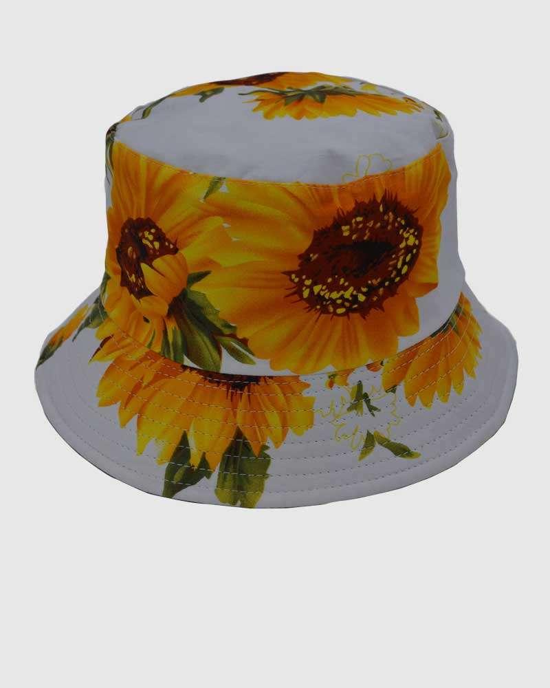 Summer Bucket Hat - White