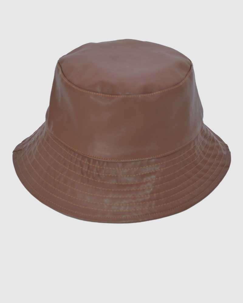 Packable Bucket Hat - Brown