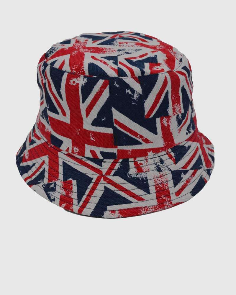 Uniion Jack Bucket Hat - Summer